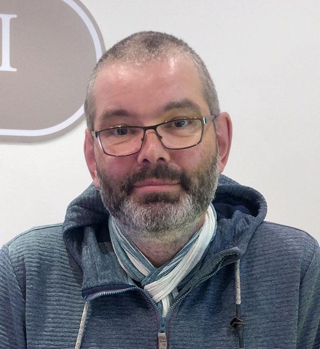 Paul Hilgärtner, Store Manager Borowski Gallery Düsseldorf