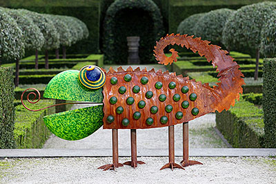 CHAMELEON - Außenobjekt, Gartenskulptur, Borowski OUTDOOR OBJECTS