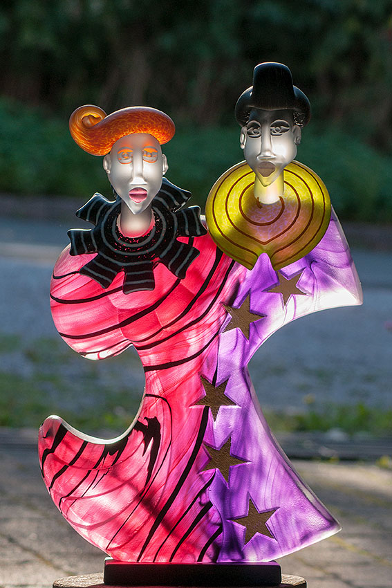 DANCERS   Borowski Art Object