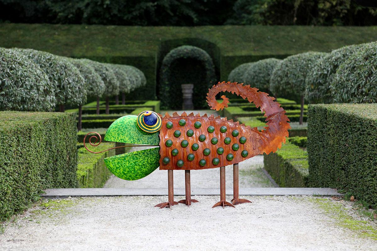 CHAMELEON - Außenobjekt, Gartenskulptur, Borowski OUTDOOR OBJECTS