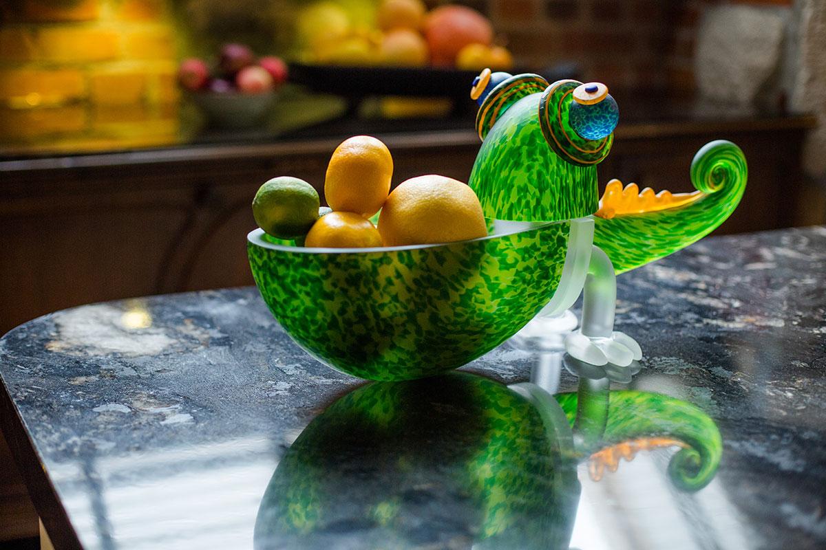 CHAMELEON SMALL - Glasschale Chameleon aus der STUDIO LINE Kollektion