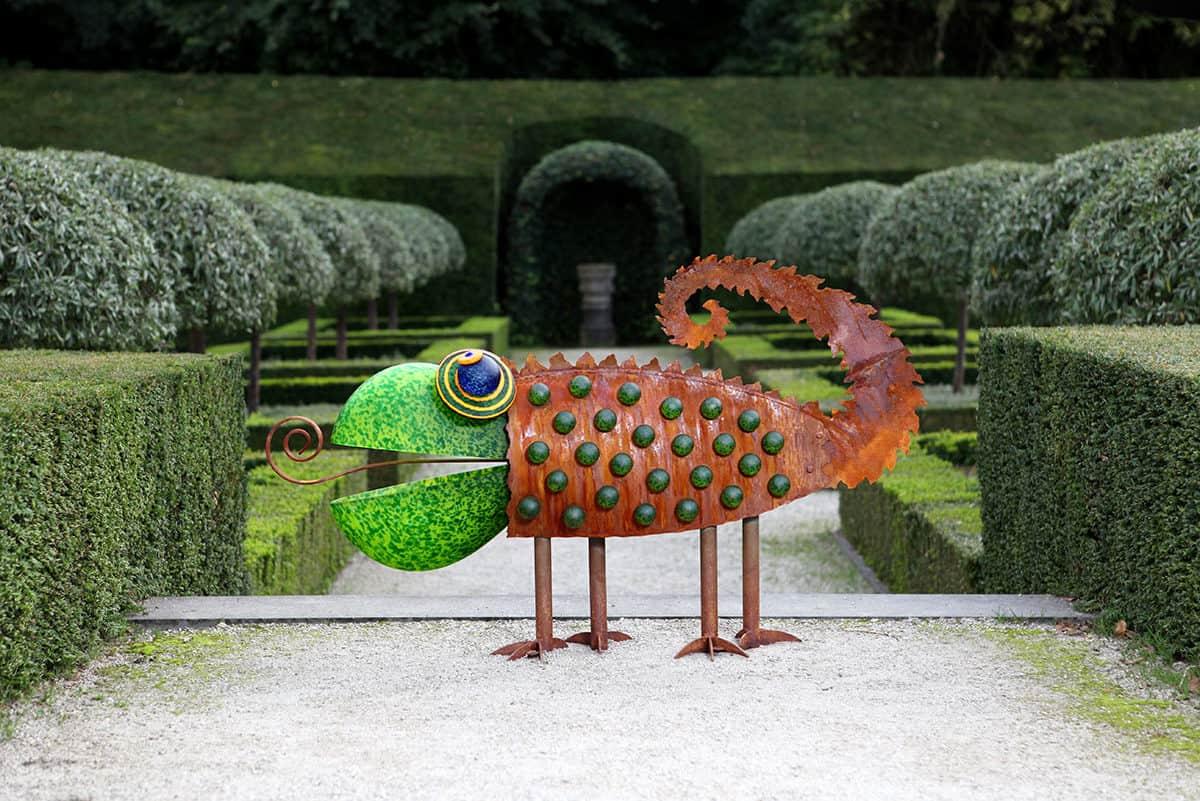 CHAMELEON - Außenobjekt, Gartenskulptur, Borowski OUTDOOR OBJECTS | Borowski Glaskunst