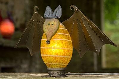 VAMPY - Lichtobjekt Fledermaus - Borowski OUTDOOR OBJECTS Kollektion | Borowski Glaskunst