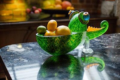 CHAMELEON SMALL - Glasschale Chameleon aus der STUDIO LINE Kollektion | Borowski Glaskunst