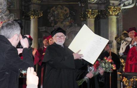 2011 - Verleihung des Ehrendoktortitels der Kunstakademie Wrocław, Polen