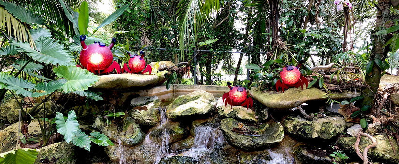 CRUSTY - Borowski Glass Art in Flamingo Gardens