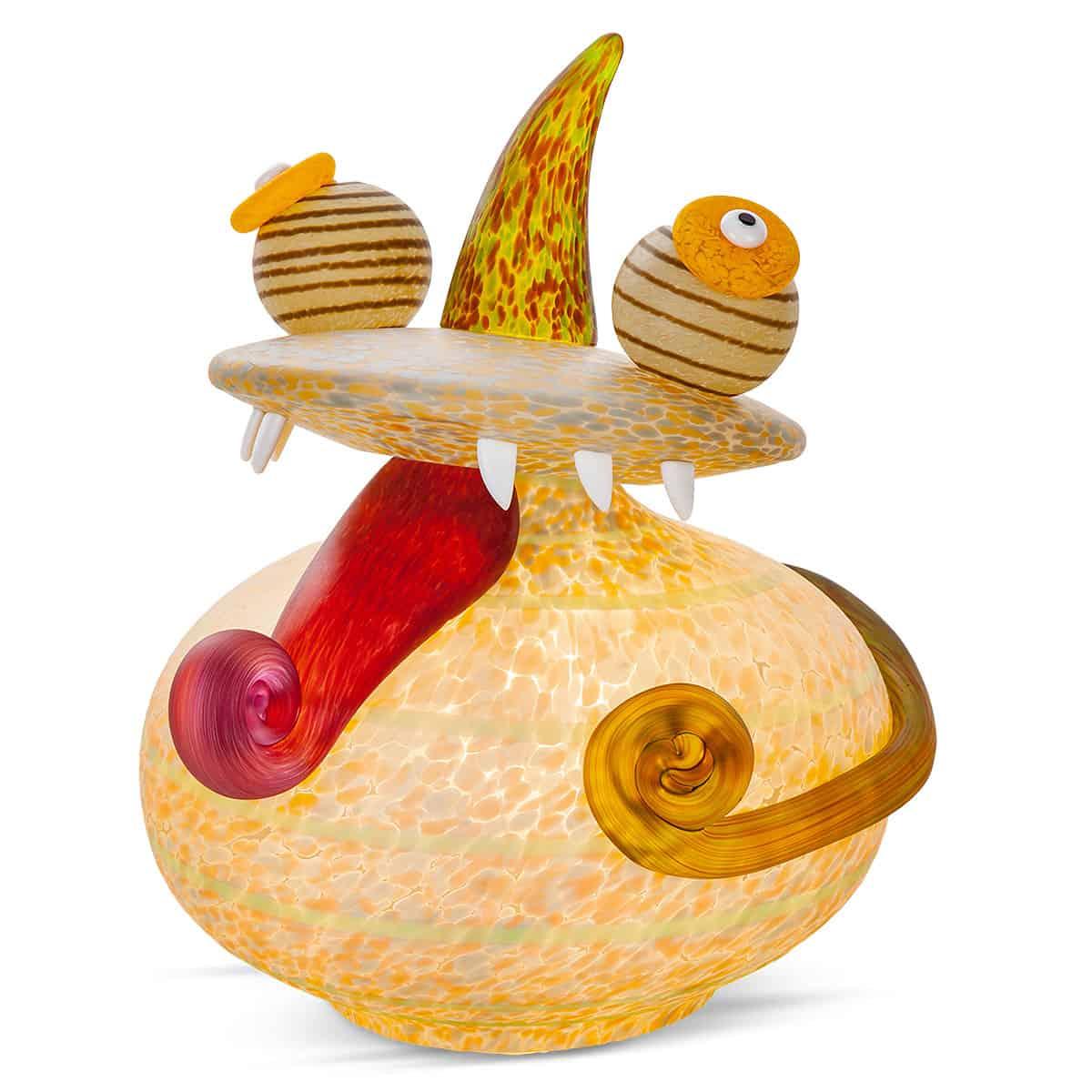 DJANGO - Borowski Chameleon table lamp apricot