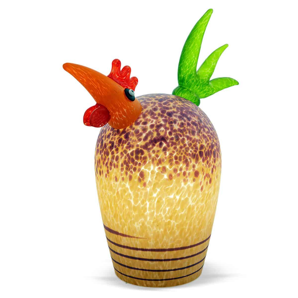 GORDON - Borowski table lamp rooster - apricot