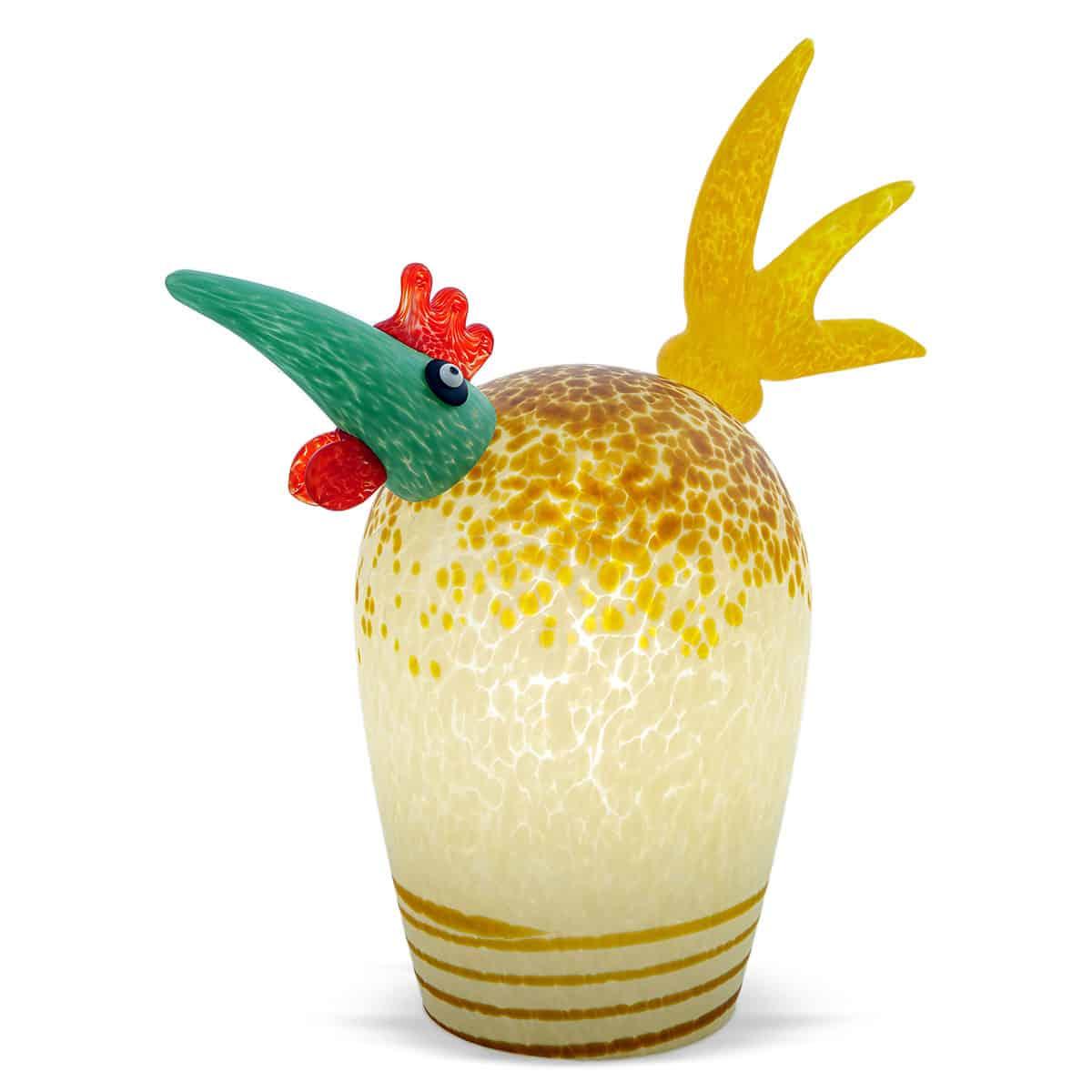 GORDON - Borowski table lamp rooster - beige