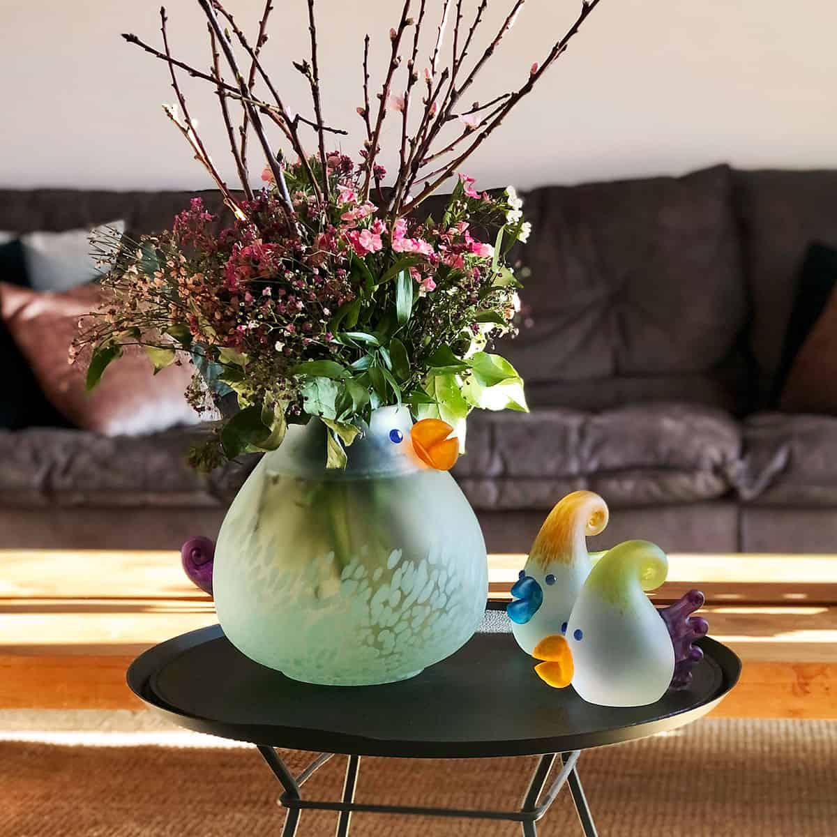 CHICKA - Vase | gelber Schnabel