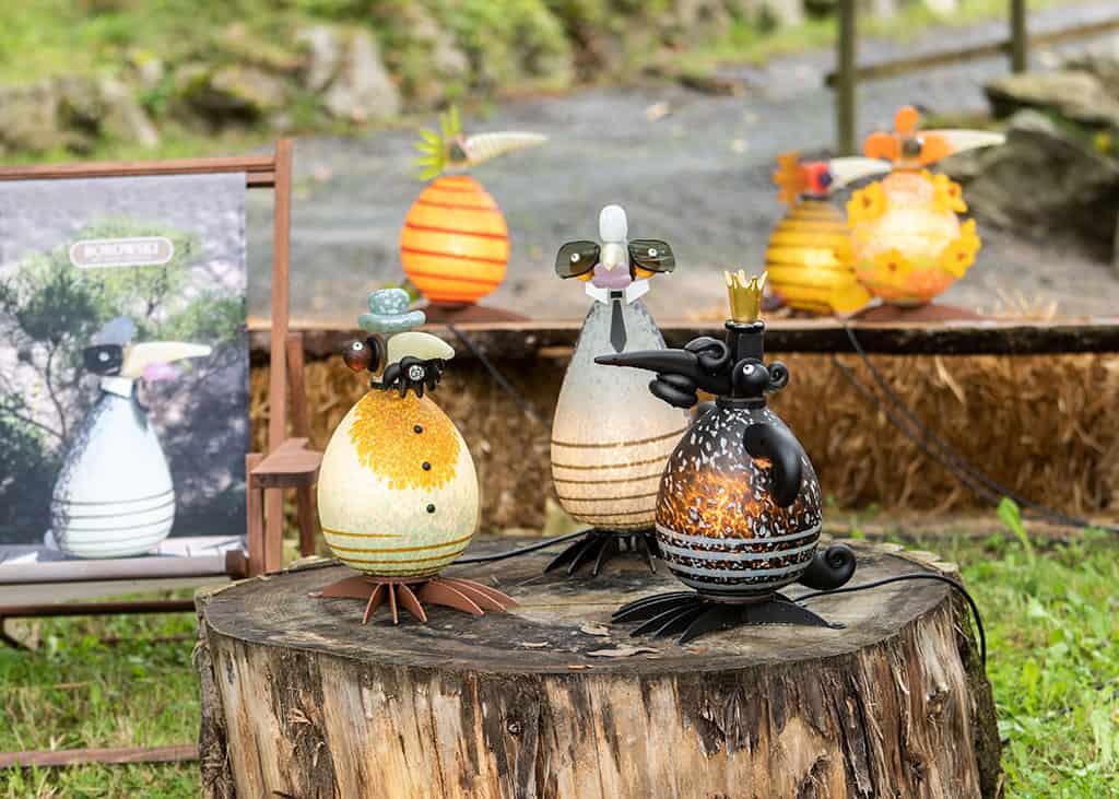 The ODD BIRDS at the Borowski Summer Exhibition 2021